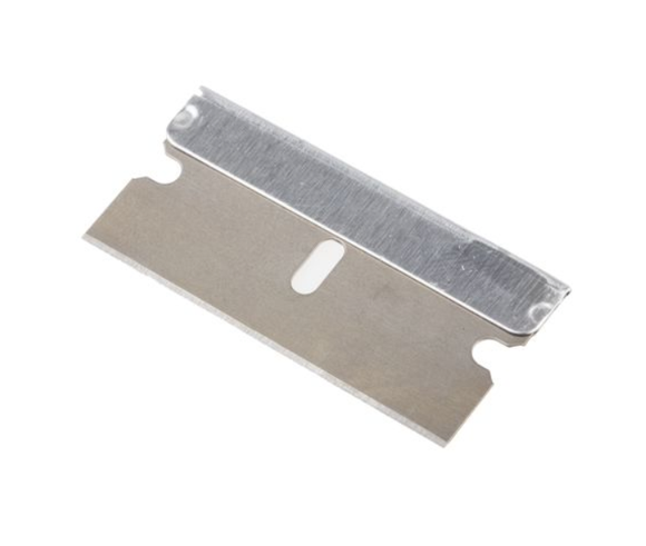 photo 1 of PRO Steel Razor Scraper Blade - Box of 100 Metal Single Sided Razor Blades