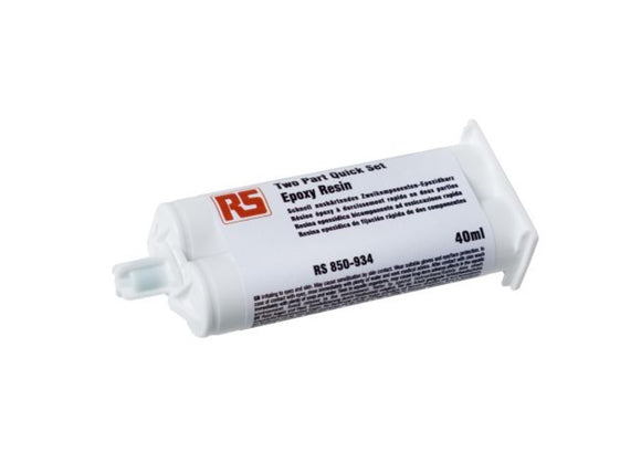 photo of 40 ml Yellow Cartridge Epoxy Adhesive, Glue for Aluminium, Steel, Weather Resistant Adhesives