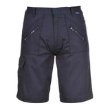 Mens Portwest Shorts Multi Pocket Work Bermudas Shorts Sizes S-4XL Workwear UK