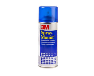 photo 1 of 3M SprayMount™ Spray Adhesive Glue, Clear Typesetting Adhesives Glues Paper, Fabric 400 ml