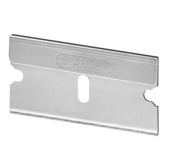photo 1 of Stanley Razor Blade Pack of 10 Carbon Steel Blades 0-28-510 - For Stanley Pocket Scraper