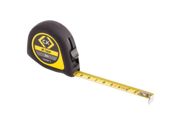 photo of CK ST 3m / 10ft Tape Measure, Metric Softech Tape Measures T3442M 3