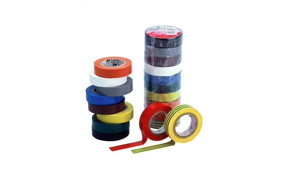 Photo 1 of 3M Temflex 1300 Assorted Electrical Tape, 15mm x 10m