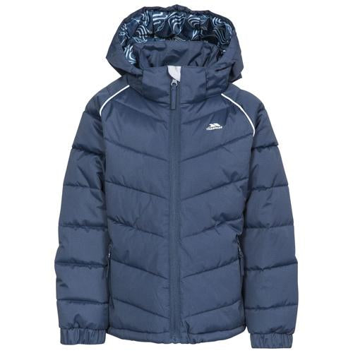 Girls Quilted Puffer Jacket Waterproof Trespass Sheer Warm Padded Jackets Coat 5-12 Years UK