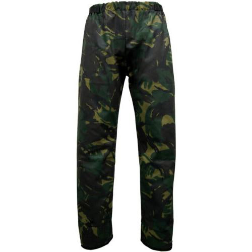 Camo Wax Trousers, Waxed Cotton Shooting Fishing Clothes Sizes M - 3XL