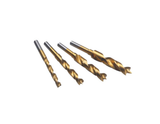 photo 1 of DREMEL® 636 Drill Bit Set, Dremel Accessories 2.615.063.6JA, 4 Piece Wood Mini Drill Bits 3mm, 4mm, 5mm & 6mm, Titanium Coating