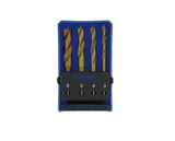 photo 2 of DREMEL® 636 Drill Bit Set, Dremel Accessories 2.615.063.6JA, 4 Piece Wood Mini Drill Bits 3mm, 4mm, 5mm & 6mm, Titanium Coating