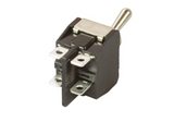 photo 2 of APEM Toggle Switch Y12CP, DPST X & Y Series Panel Mount Latching Switches 10-15A