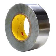 Photo of 3M 420 Conductive Aluminium Tape 25mm x 33m Lead 25MMX33M Rubber +106°C / -54°C