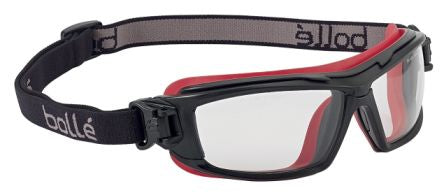 Photo of Bolle ULTIM8 Anti-Mist Coating, Scratch Resistant Clear Polycarbonate (PC) Safety Goggles,ULTIPSI