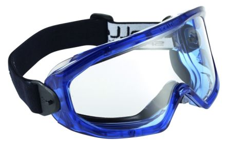 Photo of Bolle SUPERBLAST Anti-Mist Coating, Scratch Resistant Clear Polycarbonate (PC) Safety Goggles,SUPBLAPSI
