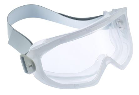 Photo of Bolle SUPERBLAST AUTOCLAVE Anti-Mist Coating, Scratch Resistant Clear Polycarbonate (PC) Safety Goggles,SUPBLCLAVE