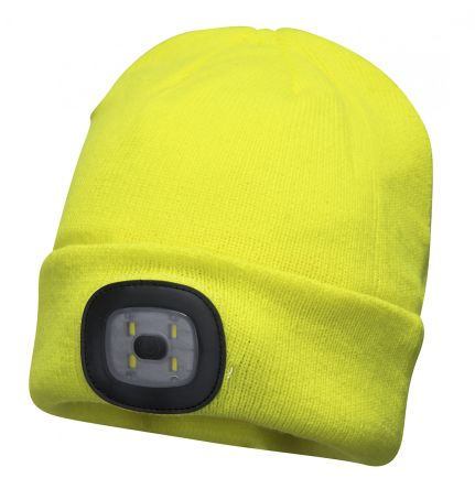 Photo of Yellow Beanie Work Hat