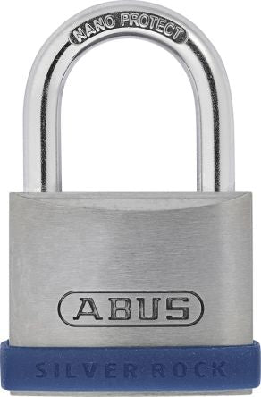 Photo of ABUS Padlock 42mm Steel Key 5/40 Security Padlocks 25mm Shackle Blue Security Lock
