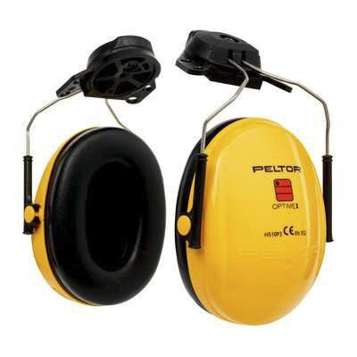 Photo of 3M™ Ear Defenders Peltor™ Optime 26dB Ear Protectors & Helmet Attachment H510PHGU