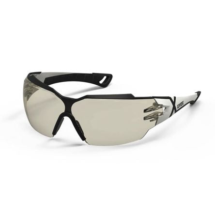 Photo of Uvex Safety Glasses Spectacles PHEOS CX2 Brown Anti-Mist 9198-064
