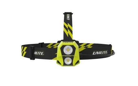 Unilite LED Head Torch - Rechargeable, 450 lm HL-6R