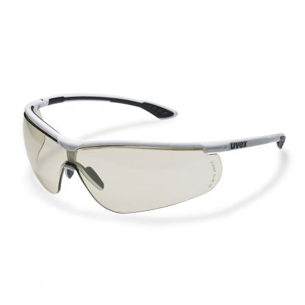 Photo of Uvex  Safety Glasses Spectacles Sportstyle CBR65 Brown Anti-Mist 9193064 CBR 65