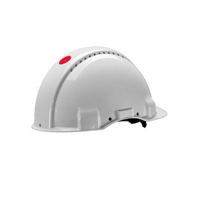 Photo of Hard Hat G3000 Safety Helmet White ABS Ventilated G30DVI