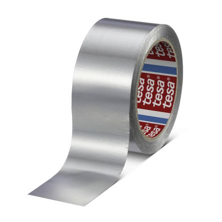Photo of Tesa 60630 Conductive Aluminium Tape 0.065mm W.50mm L.50m Acrylic +160°C / -40°C,-