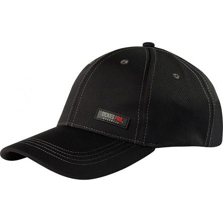 Photo of Dickies Black/Grey Polyester Cap DP1003 Work Hat