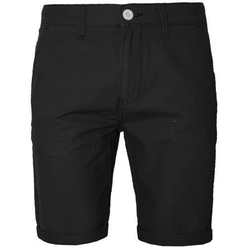 Mens Cotton Roll Up Chino Shorts 13 Colours 30