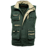 Mens Suffolk Padded Multi Pocket Gilet Jacket Sizes M-XXL 3 Colours Bodywarmer