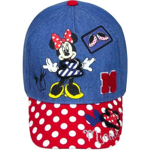 Girls Disney Minnie Mouse Cotton Baseball Cap