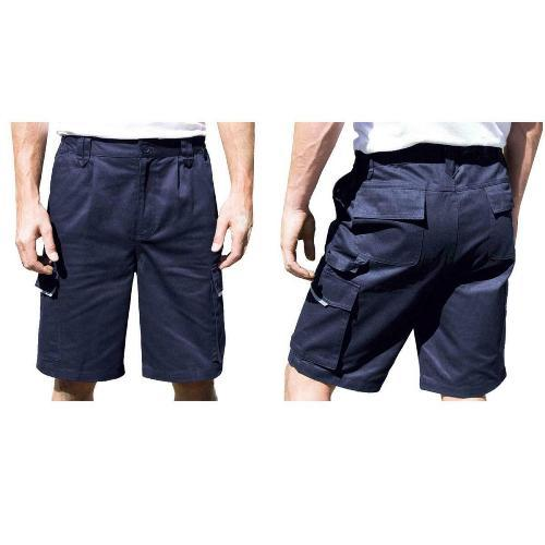 Men\'s Multipocket Cargo Work Shorts: Style 28442