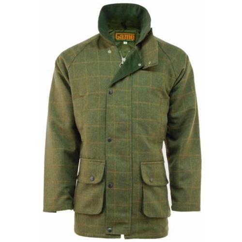 Mens Tweed Jacket XS - 3XL, Waterproof Shooting Hunting Jackets UK