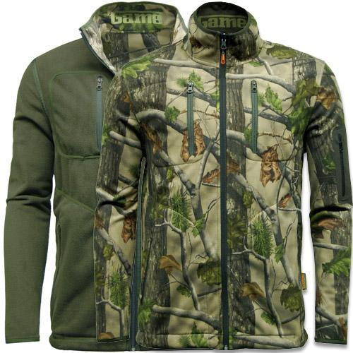 Camouflage Jacket S - 2XL, Reversible Camo Shooting Hunting Fishing Coat UK, Gam