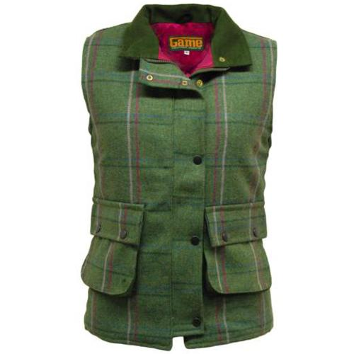 Ladies Tweed Gilet Waistcoat Sizes 8 - 18 UK Shooting, Hunting Waistcoats