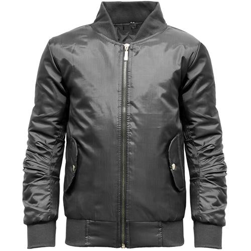 photo of black Girls Bomber Jacket 7-16 Years, Teens' Bomber Jackets & Coats Black, Khaki or Wine