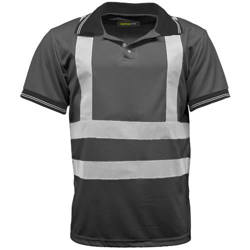 Hi Vis Polo Shirt Sizes S - 3XL, Short Sleeve Polo Shirts, Standsafe HV004