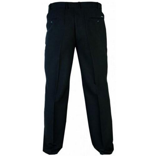 Mens King Size Max Trousers Large Size Black Trousers Sizes 44S - 60L Everyday