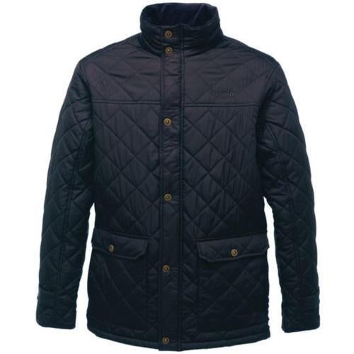 Mens Regatta Diamond Quilted Jacket Sizes S-2XL 3 Colours Warm Classic Coat UK