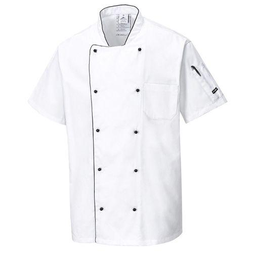 Pro Aerated Chef Jacket Sizes S - 3XL, Chefs Clothing, UK Chefwear Jackets, Whit