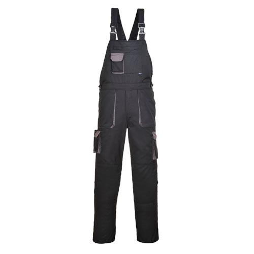 Bib & Brace Overalls with Kneepad Pockets Sizes S - 2XL, Portwest TX12 Texo