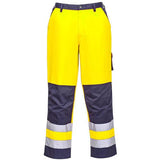Hi Vis Cargo Trousers Sizes S - 2XL, With Knee Pad Pockets - TX51