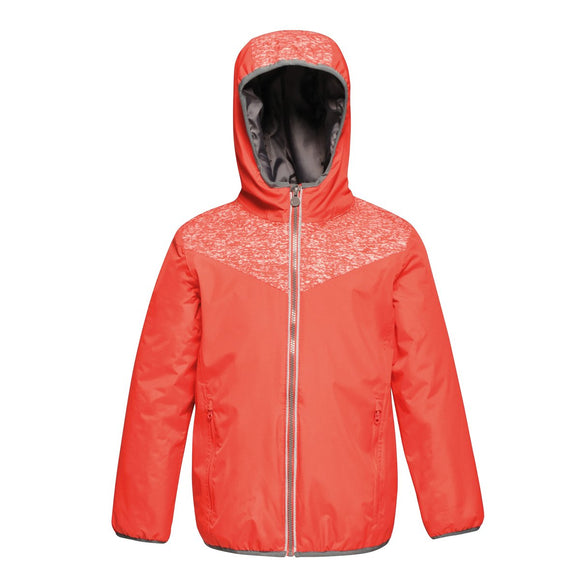 Kids Reflector Jacket 5-16 Years, Childrens Waterproof Hi Vis School Jackets Regatta TRA318