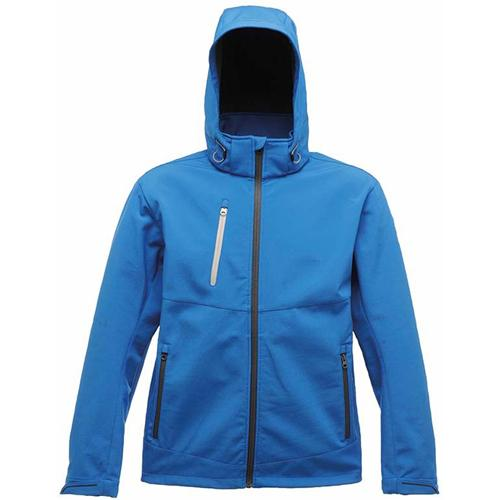 Regatta Mens Softshell Jacket Sizes S - 3XL, Hooded 3 Layer Activewear Jackets Xpro Dropzone TRA672
