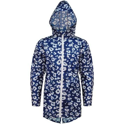 Girls Cagoule Ruth Packaway Printed Cagoules Ages 2-10 Years 3 Colours Raincoat