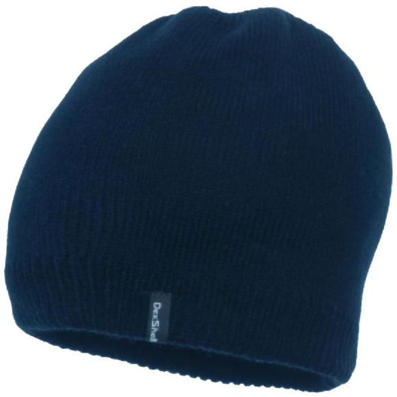 Dexshell Waterproof Beanie Hat	Navy, Cyan Blue, Purple, Coral, Red Mens Ladies