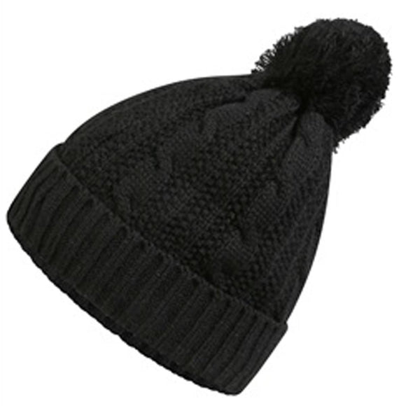 Waterproof Beanie Hat ProClimate Thinsulate Cableknit Bobble Hats Soft & Warm UK