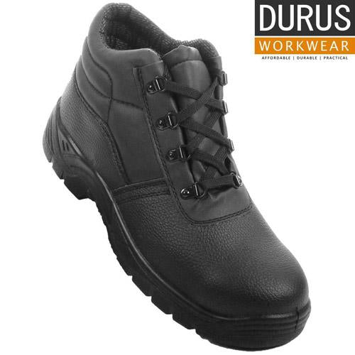 Mens Durus Chukka Boot Steel Toe Cap Midsole Safety Work Boots Workwear UK 6-12