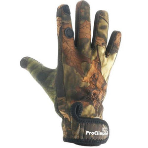 Waterproof Gloves Shooting, Fishing, Hunting Gloves Rubber Palm Grip S - XL UK