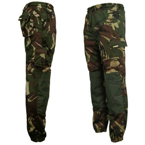 Camouflage Utility Joggers, Camo Cargo Jogging Bottoms, Standsafe WK021