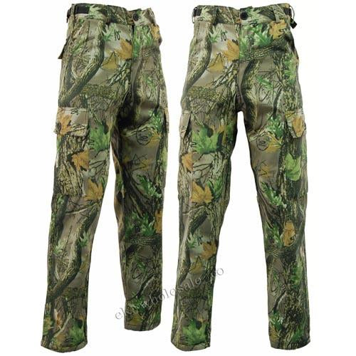 Camouflage Waterproof Trousers, Stormkloth Camo Fishing Hunting Clothes UK