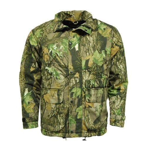 Camouflage Waterproof Jacket, Deluxe Hunting Fishing Coat UK