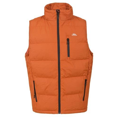 Mens Quilted Gilet S - XXL Trespass Padded Gilets Body Warmers Jackets Olive, Or